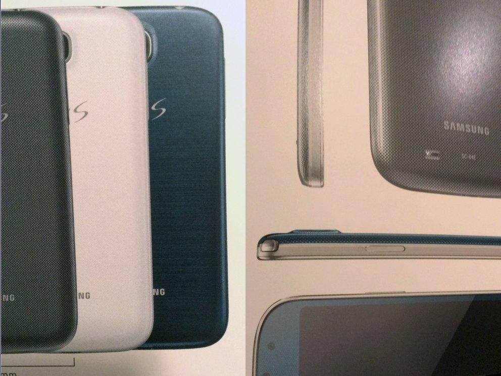 Samsung Galaxy S4 in Blau gesichtet