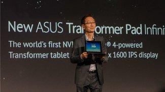 Neues Asus Transformer Pad Infinity: Nvidia Tegra 4 &amp&#x3B; 2560 x 1600 Pixel auf 10,1 Zoll