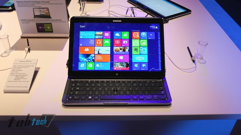 Samsung ATIV Q in unserem Hands-On Video