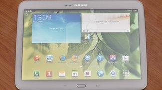 Samsung Galaxy Tab 3 10.1 im ersten Kurztest - Update: Video