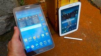 Vergleich: Samsung Galaxy Tab 3 8.0 vs. Galaxy Note 8.0