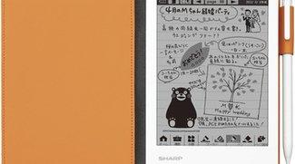 """Sharp WG-N20: Neuauflage des """"analogen"""" Tablets nach überraschendem Erfolg"""
