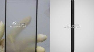 Xiaomi MI-3 Display-Front mit sehr dünnem Rahmen auf erstem Foto