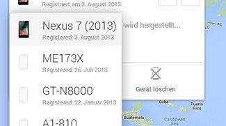 Android Geräte-Manager: Sperrfunktion ab sofort aktiv