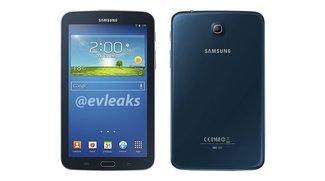 Samsung Galaxy Tab 3 7.0: Pressebild zeigt blaue Variante