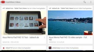 Update: YouTube App für Android v5.0.21 bringt echtes Multitasking uvm. (Download)