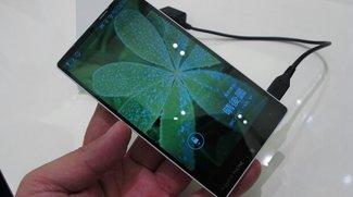 Sharp Aquos Phone 302SH Xx mit extrem dünnen Rahmen vorgestellt