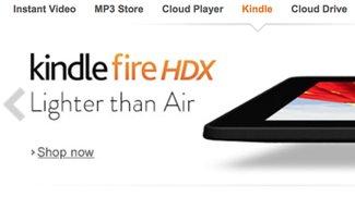 Amazon vergleicht das Kindle Fire HDX 8.9 mit dem iPad Air