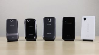 Generationen-Vergleich: Nexus 5 vs. Nexus 4, Galaxy Nexus, Nexus S &amp&#x3B; Nexus One