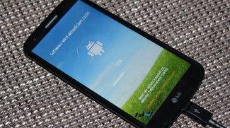 LG G2 erhält erstes Update in Deutschland - Es bleibt bei Android 4.2.2