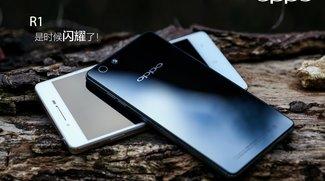 Oppo R1 mit 5 Zoll, Rückseite aus Glas &amp&#x3B; guter Kamera angekündigt