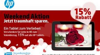 Deal: 15% Rabatt auf HP Tablets z.B. Omni 10 für nur 339€
