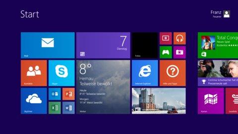 Surface 2 Metro UI