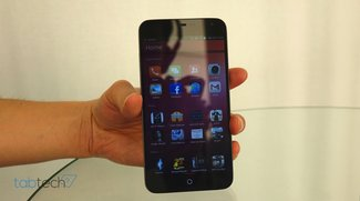 Meizu Ubuntu Phone Prototyp im Hands-On Video