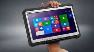 Panasonic Toughbook CF-D1: Robustes 13,3 Zoll Windows 8.1 Tablet