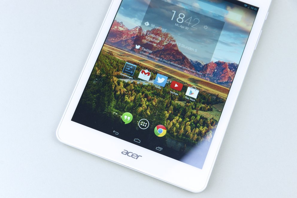 Acer Iconia Tab A1-830 Display