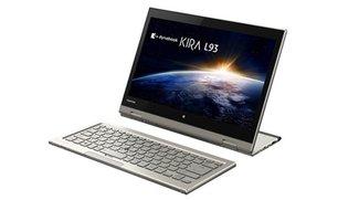Toshiba bringt 7-in-1-Konzept als Kirabook L93 auf den Markt