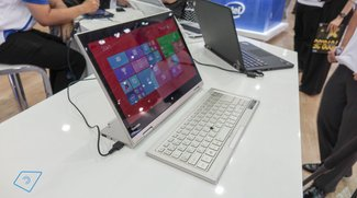 Toshiba Kirabook L93 in unserem Hands-On Video