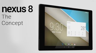 Nexus 8 von HTC: Schickes Konzept auf Basis der Gerüchte