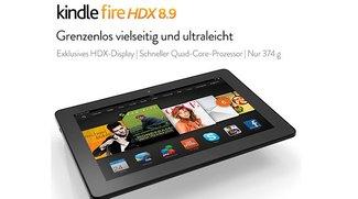 Neues Kindle Fire HDX 8.9 mit Snapdragon 805 aufgetaucht