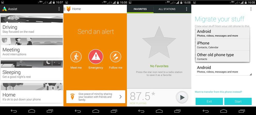Moto G 2 Apps