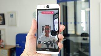HTC Desire EYE mit 5,2 Zoll &amp&#x3B; 13-MP-Frontkamera vorgestellt (Video)