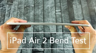 iPad Air 2 im Bend Test (Videos)