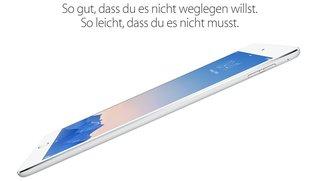 Vergleich: iPad Air 2 vs. iPad Air - die Unterschiede