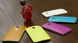 Motorola: Android 5.0 Update für 2013er &amp&#x3B; 2014er Smartphones in Kürze