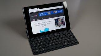 Nexus 9 Tastaturfolio im Hands-On Video