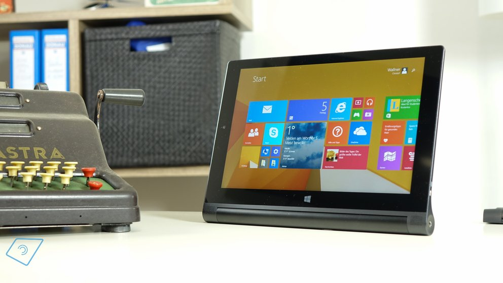 Lenovo Yoga Tablet 2 10 mit Windows Test-8