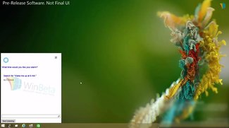 Windows 10: Cortana auf dem Desktop demonstriert (Video)