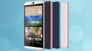 HTC Desire 826 mit 5,5 Zoll &amp&#x3B; UltraPixel-Frontkamera vorgestellt (CES 2015)