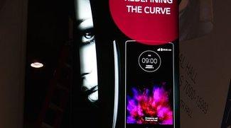 LG G Flex 2 CES 2015 Präsentation durch Plakat bestätigt