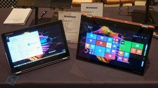 Lenovo Yoga 3 11 &amp&#x3B; 14: Erster Eindruck im Hands-On Video (CES 2015)