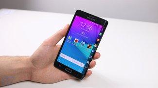 Galaxy Note Edge erhältlich Android 5.0 Update inkl. Lautlos-Modus