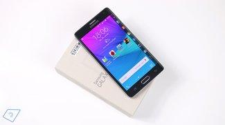 Samsung Galaxy Note Edge Test - Ein Hauch von Zukunft?