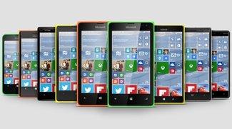 Windows 10 für Smartphones Preview unterstützt 512 MB RAM Geräte