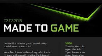 Nvidia Shield Tablet 2 mit Tegra X1 Präsentation am 3. März erwartet