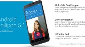 Android 5.1 Lollipop offiziell vorgestellt - Factory Images zum Download bereit