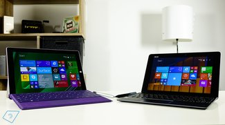 Vergleich: Surface 3 vs. Asus Transformer T100 Chi (Video)