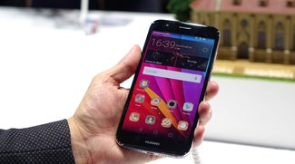 Huawei G8 mit abgerundetem 2.5D-Glas im Hands-On Video