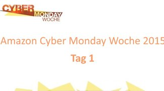 Amazon Cyber Monday Woche 2015: Deals des 1. Tages