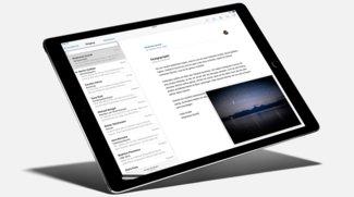 iPad Pro: Stifteingabe mit blinder Stelle