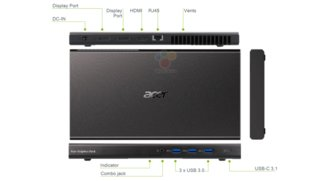 Acer Graphics Dock geleakt: Externe GeForce GTX 960M-GPU für Windows-Convertible