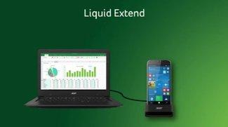 Acer Liquid Extend: Windows-10-Smartphone wird zum mobilen PC