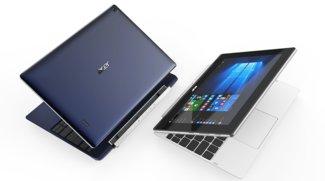 Acer Switch V 10 und One 10: Billig-Tablets mit Fingerabdruckscanner und Windows 10