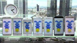 Samsung Galaxy S7 (edge) im Akku-Vergleich mit der Konkurrenz