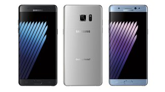 Samsung Galaxy Note 7 mit flachem Display auf Foto gesichtet