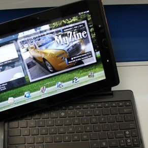 Asus Eee Pads Slider, Transformer und MeMO im Hands-On [MWC 2011]